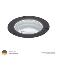 WAC US 5032-30BBR - LED LANDSCAPE IN-GROUND BRASS 120V 3000K