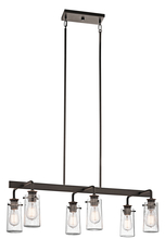 Kichler 43059OZ - Linear Chandelier 6Lt