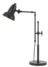 "CAL Lighting BO-2714DK - 32"" Height Metal Desk Lamp In Oil Rubbed Bronze"