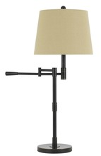 "CAL Lighting BO-2715DK - 32"" Height Metal Table Lamp In Oil Rubbed Bronze"