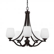 Feiss F2960/5HTBZ - 5 - Light Chandelier