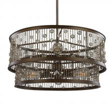Feiss F3048/6CSTB - 6 - Light Chandelier
