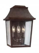 Feiss OL11901PCR - 3 - Light Outdoor Wall Lantern