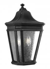 Feiss OL5423BK - 2 - Light Wall Lantern