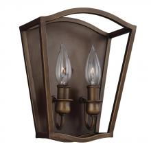 Feiss WB1746PAGB - 2 - Light Sconce