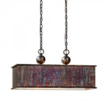 Uttermost 21922 - Uttermost Albiano Rectangle 2 Lt Bronze Pendant