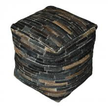 Uttermost 23963 - Uttermost Tiago Dark Brown Pouf