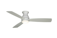 Fanimation FPS8355MWW-220 - Hugh - 52 inch - MWW with MW Blades and LED - 220V